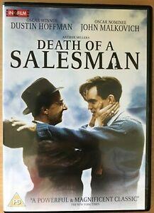 Death of a Salesman DVD 1985 Arthur Miller Classic Film Movie w/ Dustin Hoffman