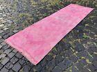 Bohemian rugs, Runner rug, Handmade, Turkish rug, Vintage, Wool   2,6 x 8,5 ft