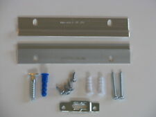 "Cleat Picture Frame Hanger, Wood, Heavy Duty w/ ""T"" Screw Security Bracket, 6"""
