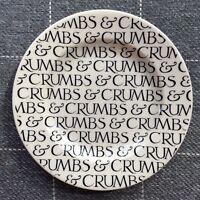 "EMMA BRIDGEWATER . Black Toast . Crumbs & Crumbs . small 6-1/2"" PLATE"