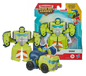 Transformers Playskool Heroes Rescue Bots Academy Salvage New in Box