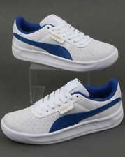 c3a9b3ffcfa3 Puma California Trainers in White   Blue - nubuck   nylon retro 80s