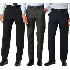 Mens New M&S Trousers Active Waist Marks & Spencer Smart Formal Work Long Pants