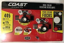 Headlamps Dual Color. Coast Pure Beam Focus 2 Pack