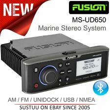 Fusion MS-UD650 Marine Stereo│AM/FM/UNIDOCK/BT/USB/AUX/NMEA/MTP│Wireless│IPX5