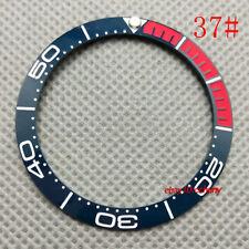 38mm Ceramic Bezel Watch Part Fit 40mm Automatic Watch Case P300-37#