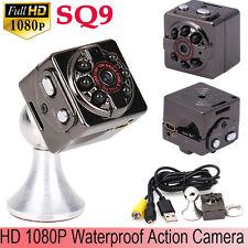 SQ9 Full HD 1080P Mini Sports DV Camera Car DVR Dash Cam Camcorder Waterproof