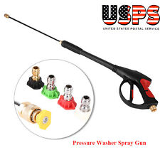 SPRAY GUN, WAND / LANCE & TIPS Power Pressure Washer Water Pumps Up to 3000 psi
