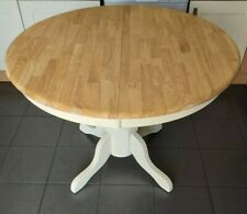 Refurbished round kentucky extending dining kitchen farmhouse table