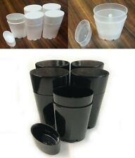 Empty Deodorant Containers Refillable Plastic Twist-Up Bottle for DIY Deodorant