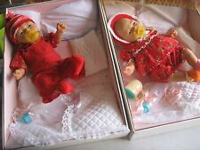 Vintage Jesmar-Boutique Lifelike Newborn Anatomically Correct Twin Boy-Girl 17""