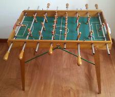 Calcio Balilla ARCOFALC anni '50 biliardino legno vintage BOLOGNA FIORENTINA