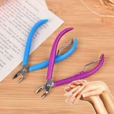 Pro Nail Scissors Stainless Steel Cuticle Cutter Cutting Nipper Clipper To TOB
