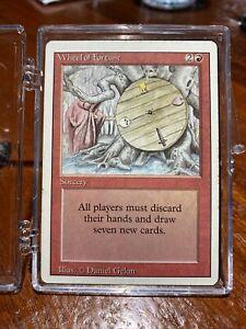 MTG Wheel of Fortune Revised Edition Regular Rare
