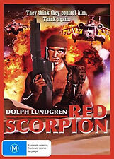 Dolph Lundgren RED SCORPION - FEROCIOUS MILITARY SOLDIER ACTION DVD