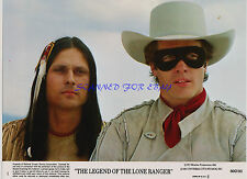 LEGEND OF THE LONE RANGER TWO ORIG 1980 8X10S KLINTON SPILSBURY MICHAEL HORSE