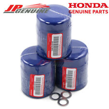 Genuine Honda Acura Engine Oil Filter + Washers 15400-Plm-A02 - Set Of 3
