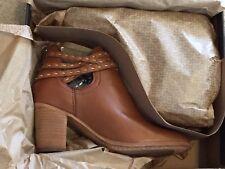 Women's Frye Naomi Pickstitch Shooties Boots Whiskey  7.5 M  NWT  $328