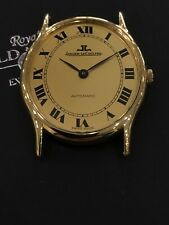 Jaeger LeCoultre Ultra Thin 18K Yellow Gold Automatic Watch #5002