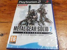 Ps2 Metal Gear Solid 2 substance nuevo y precintado español