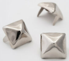 Silver Pyramid Studs 13mm - Bag of 1000 (for denim and leather) studs and spikes