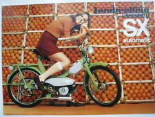Innocenti Lambretta Lambrettino Brochure Leaflet Depliant Prospekt Mega Rare