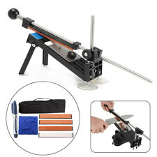 New listing Pro Kitchen Sharpening Knife Sharpener System Fix-angle Tool With 4 Stones K2G1