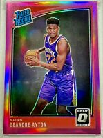 DEANDRE AYTON 2018-19 Panini Donruss Optic PINK PRIZM Rated Rookie /25 HOT RC 🔥