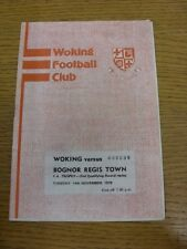 14/11/1978 Woking v Bognor Regis Town [FA Trophy Replay] . Thanks for viewing th