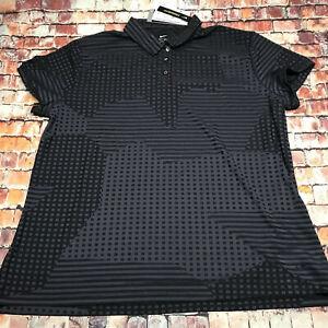 Womens Nike Dri-Fit UV Ace Golf Polo Grey CK5844-010 Sz L NWT $65