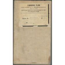 ALGER et ses Environs Carte État Major colorisée 1/50 000 PLON-NOURRIT début 190