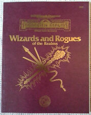 FOR9 - Wizards and Rogues of the Realms (1st) - 2e Dungeons & Dragons AD&D TSR