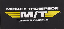 MICKEY THOMPSON RACING BUMPER STICKER DECAL HOT ROD TOOL BOX NASCAR NHRA CAR