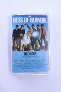 "Blondie- The Best Of Blondie - Cassette Tape BLONDIE ""THE BEST OF""CASSETTE ALBUM"