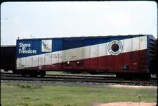 Northern Pacific#31564 Box Car Share in Freedom Jun 76 VINTAGE  KODACHROME SLIDE