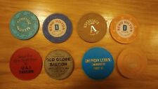 Vintage Bar Roulette and  American Legion Chips
