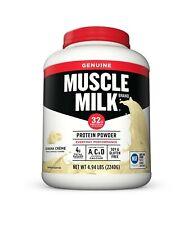 Muscle Milk Genuine Protein Powder Banana Crème Lactose Free Drink Vitamins Rich