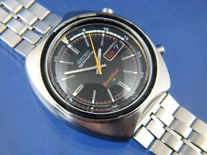 Vintage 1971 Seiko 5 Sport Speed-Timer Chronograph Automatic Watch 7017-6040