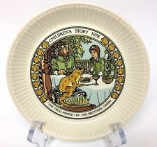 Wedgwood Children's Story 1978 Collector Plate The Frog Prince Brothers Grimm
