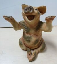 Natural Heritage by Holland Studio Crafts Pig in Mud Ornament Y15 C39