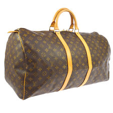 LOUIS VUITTON KEEPALL 55 TRAVEL HAND BAG PURSE MONOGRAM M41424 SP0957 A40758d