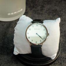 Bering Men's Wristwatch Slim - 13940-404-1 Leather