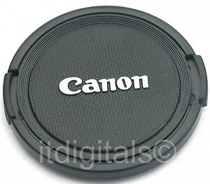 62mm Snap-on Front Lens Cap For Canon EOS EF-S IS USM 62 mm Camera Camcorder