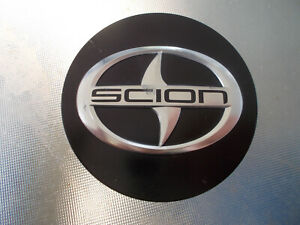 """11 12 13 Scion TC OEM alloy wheel 2 1/2"""" black center cap"""