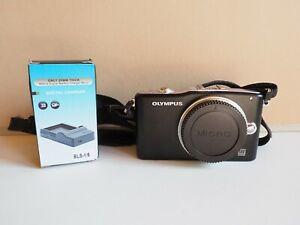 Olympus PEN PEN E-PM1 12.3MP Digital Camera - Black, Body Only MFT