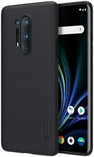 Phone Case OnePlus 8 Pro Genuine Nillkin Frosted Shield Black Back Cover Shell