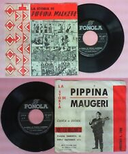 LP 33 7'' MATTEO MUSUMECI La storia di peppina maugeri FONOLA 279 no cd mc dvd