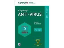 New Kaspersky Anti-Virus 2016 - 3 PCs (Key Card)