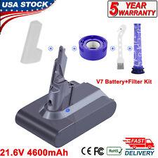 4.6Ah Battery For Dyson V7 Animal Motorhead Pro Trigger Handheld Vacuum Filter