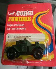 Corgi #84 Daimler Scout Car, RED CARD VARIANT Mint In BP US Seller